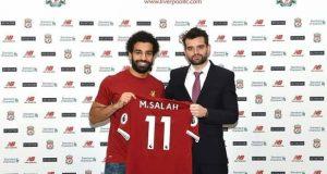 محمد صلاح لاعب نادى ليفربول 2017 2