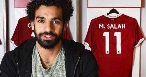 محمد صلاح لاعب نادى ليفربول الإنجليزى