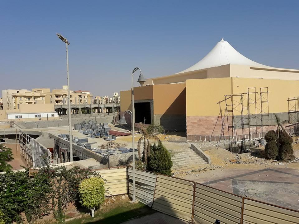 انشاءات مجمع حمامات سباحة نادى الزهور التجمع الخامس 2