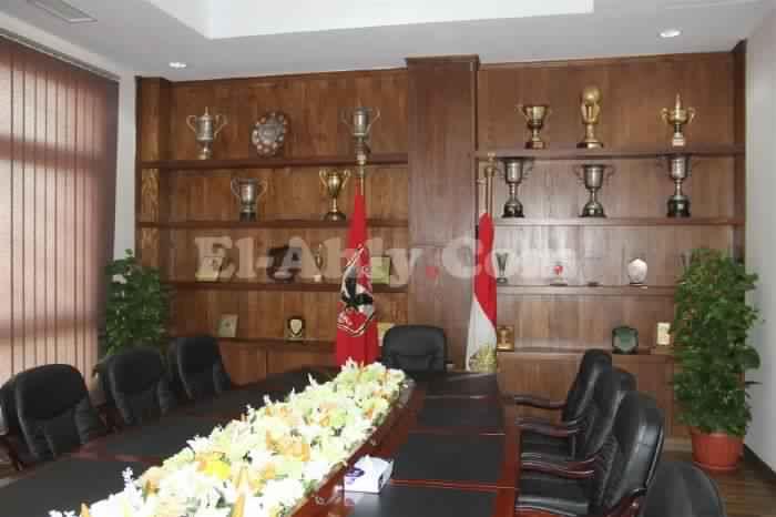 قاعة صالح سليم فى فرع الشيخ زايد 2