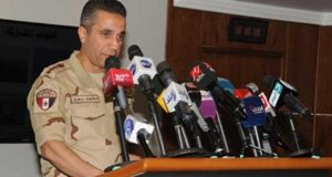 عميد محمد سمير المتحدث العسكرى السابق