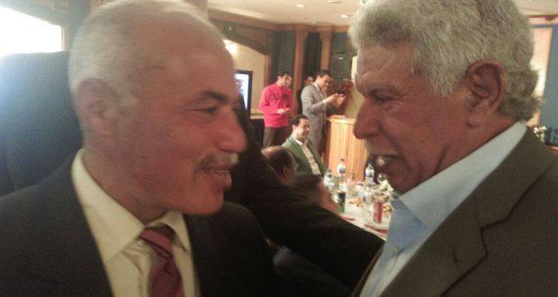 محمد حامد رئيس نادى جرين هيلز السابق مع كابتن حسن شحاتة مدرب منتخب مصر السابق