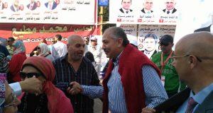 العامرى فاروق فى انتخابات نادى الزهور