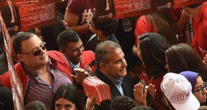 طاهر ابو زيد فى انتخابات النادى الاهلى
