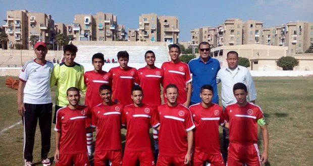 فريق نادى الزهور لكرة القدم تحت 15 سنة