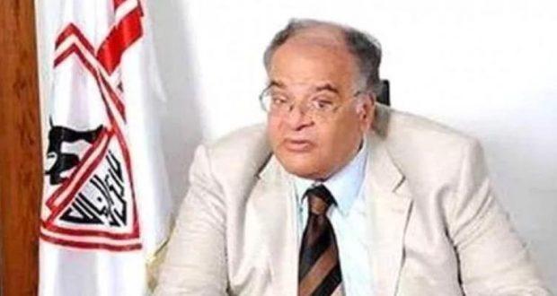 ممدوح عباس رئيس نادى الزمالك الاسبق