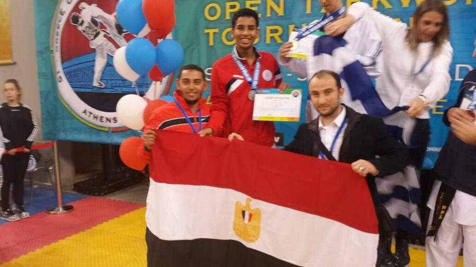 نبيل حسن يحصل على فضية العالم للشباب التايكوندو 2017