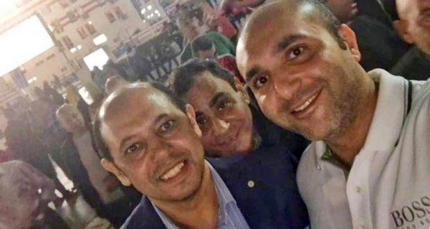 هانى العتال و احمد سليمان فى انتخابات نادى الزمالك