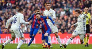 اهداف برشلونة وريال مدريد