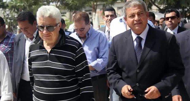 مرتضى منصور و خالد عبد العزيز