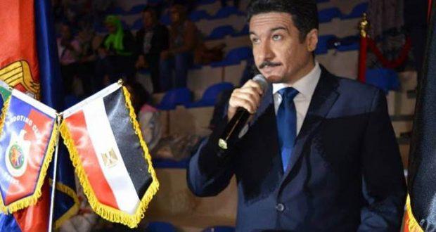 محمد الدباح مدير نادى الصيد فرع اكتوبر