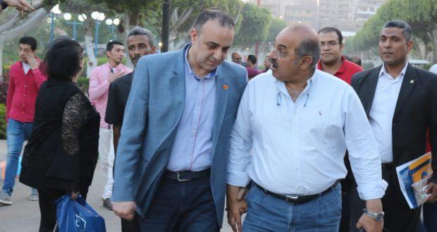 هشام حطب ورئيس نادي الشمس