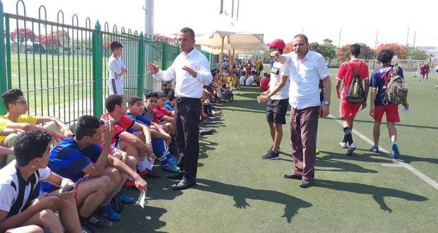 اختبارات الناشئين لكرة القدم في نادي المقاولون العرب