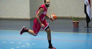 كريم دهشان لاعب كرة السلة
