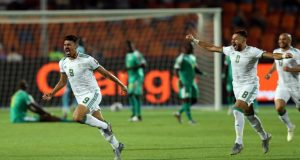 هدف الجزائر في السنغال في نهائي امم افريقيا