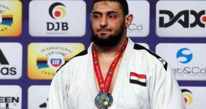 اسلام الشهابي لاعب منتخب مصر للجودو