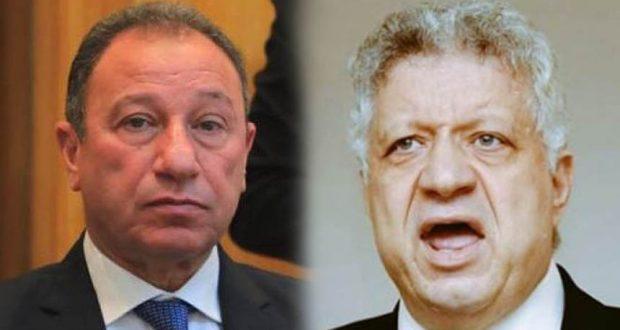 مرتضي منصور يهاجم محمود الخطيب