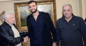حمدي النقاز مع مرتضي منصور