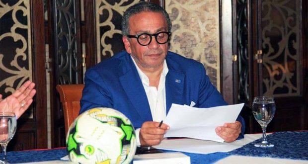 عمرو الجنايني رئيس لجنة اتحاد الكرة