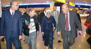 وزيرة الصحة تتابع اجراءات الحجر الصحي لمواجهة فيروس كورونا