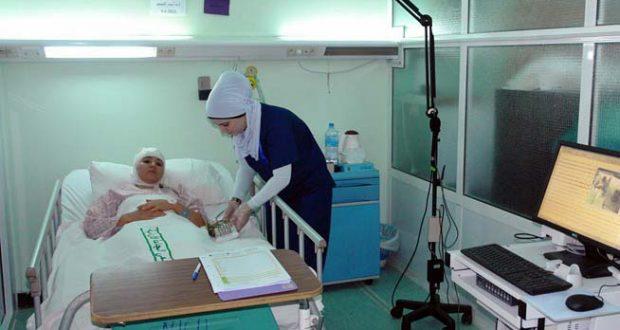 إصابة ممرضة بحميات إمبابة بفيروس كورونا