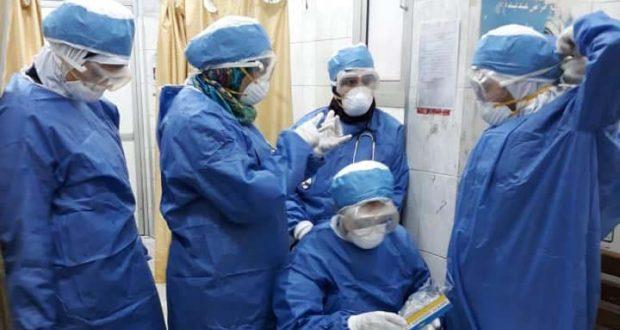 اصابة ممرضه من فيروس كورونا في مستشفي حميات امبابة