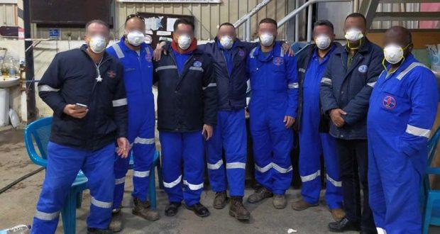 العاملين في شركة خالدة للبترول