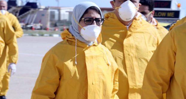 حالة فيروس كورونا في مصر