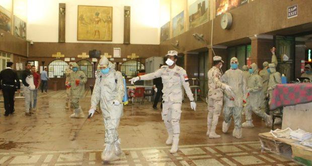 أعمال التطهر والتعقيم في أسوان لمواجهة فيروس كورونا