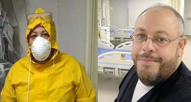 السيد المحسناوي ممرض مستشفي النجيلة