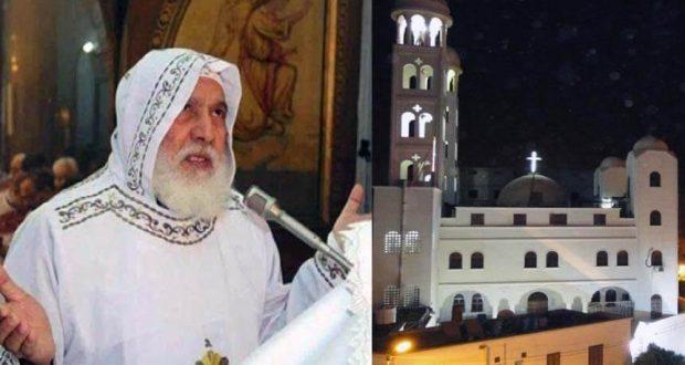 القس بيشوي ناروز راعي كنيسة القديسة العذراء مريم بمدينة قنا