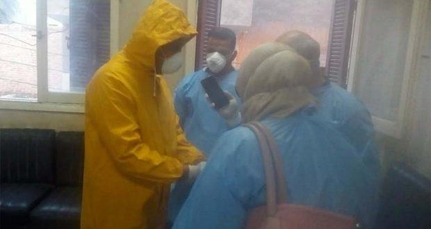 حالات فيروس كورونا في بسيون