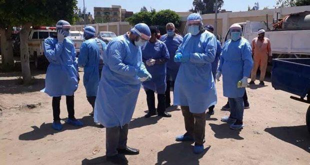 فريق الطب الوقائي لمتابعة مخالطي مصابي فيروس كورونا