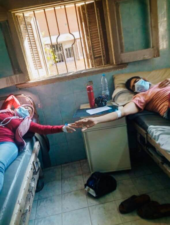 عامل وخطيبته اصيبوا بفيروس كورونا في شركة جيزة للغزل والنسيج
