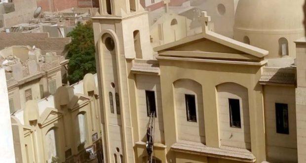 كنيسة السيدة العذراء بمطرانية بني سويف