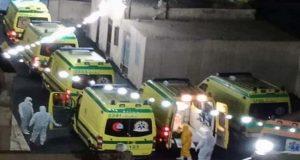 نقل حالات فيروس كورونا في دمياط الي مستشفى تمي الأمديد