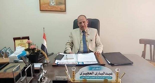 الدكتور عبدالبارى العجيزى مدير الطب العلاجى بمديرية الصحة بالمنوفية