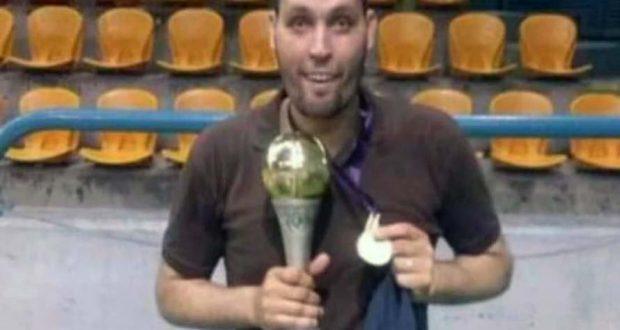 شعبان عبد الوهاب نجم الزمالك السابق لكرة السلة
