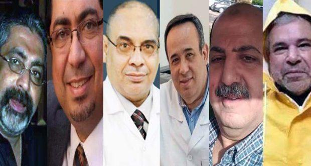 وفيات الأطباء بفيروس كورونا