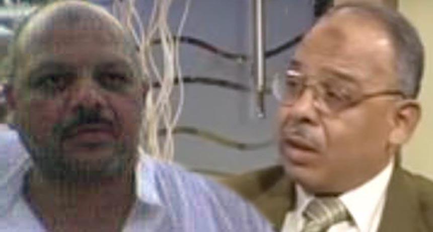 الدكتور رأفت القاضى والدكتور أشرف القاضي