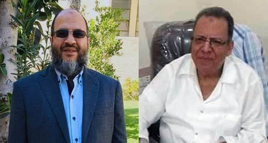 الدكتور كمال عبدالنبي والدكتور إبراهيم موسي