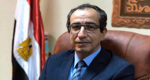 الدكتور ياسر حتاتة - عميد كلية الطب ورئيس مجلس إدارة المستشفيات الجامعية بجامعة الفيوم