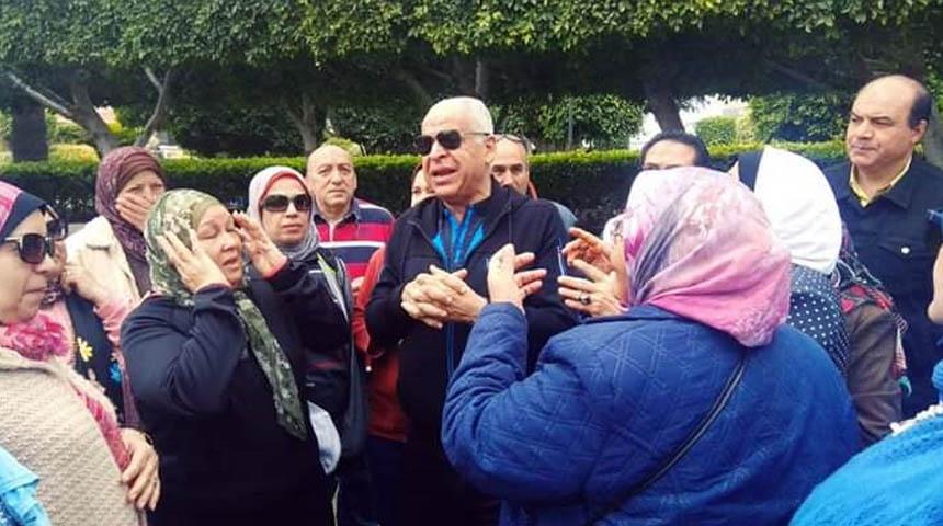 المهندس فرج عامر رئيس مجلس إدارة نادي سموحة
