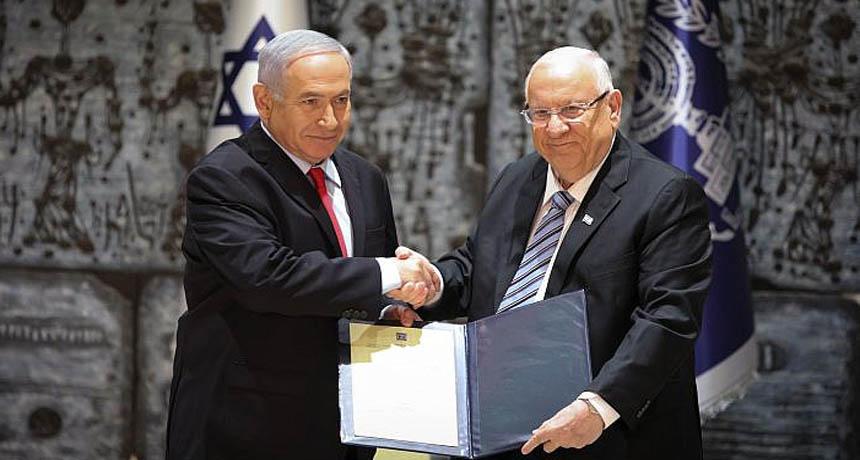 بنيامين نتنياهو والرئيس الاسرائيلي
