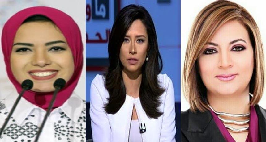 ريهام السهلي ودينا زهرة وآيه عبد الرحمن