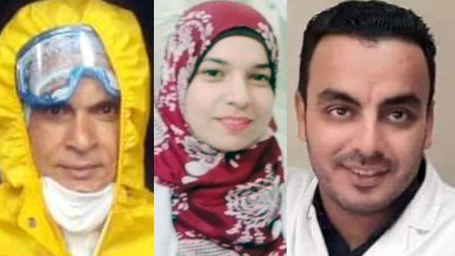وفاة حسين المصري ودعاء حسن وعبد اللطيف سليمان