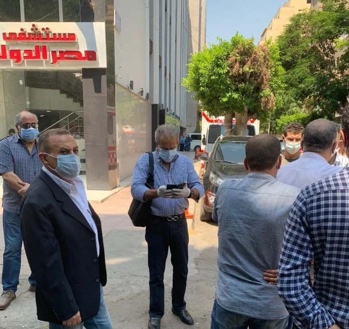 وفاة والده خالد الدرندلى أمين صندوق النادي الاهلي 01