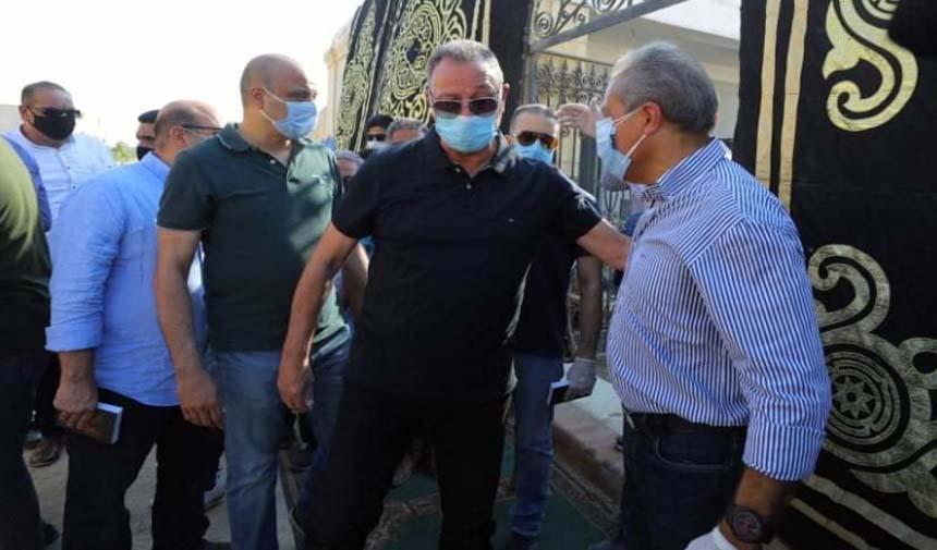 وفاة والده خالد الدرندلى أمين صندوق النادي الاهلي