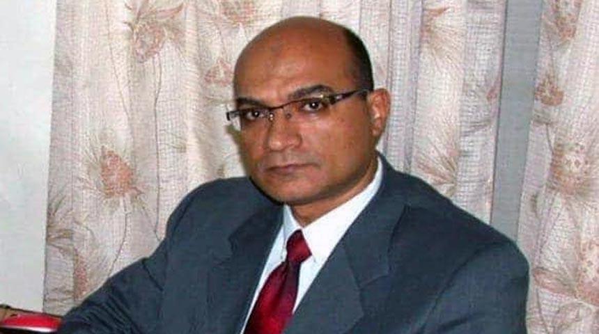 دكتور أسامة البرماوي أستاذ جراحة الأنف و الاذن و الحنجرة بكلية الطب جامعة طنطا