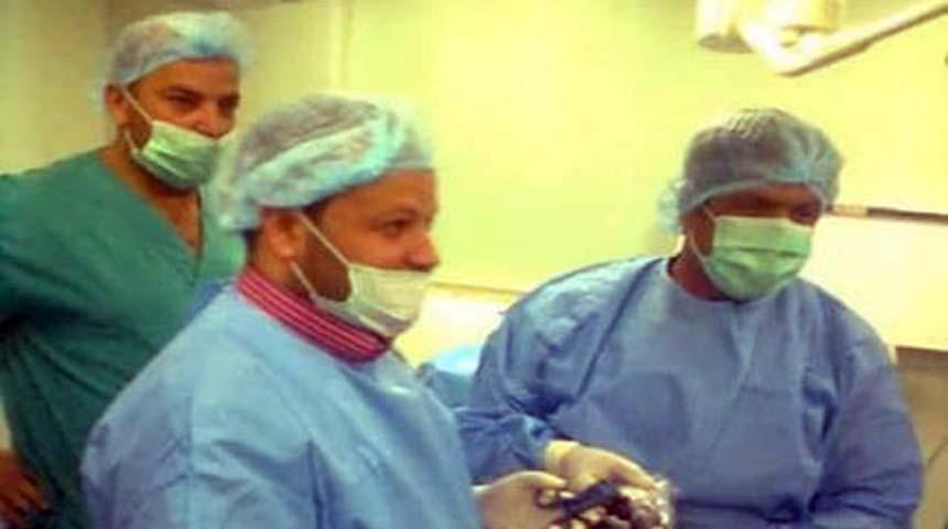 دكتور أيمن عبد الموجود إستشارى الجراحة العامة